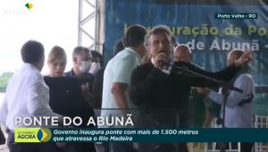 Nelson Piquet em evento com Jair Bolsonaro
