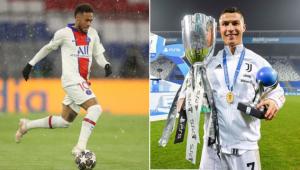 Neymar disse que sonha jogar com CR7