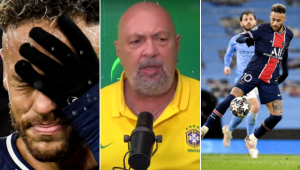 Nilson Cesar criticou a atuação de Neymar após a eliminação do PSG