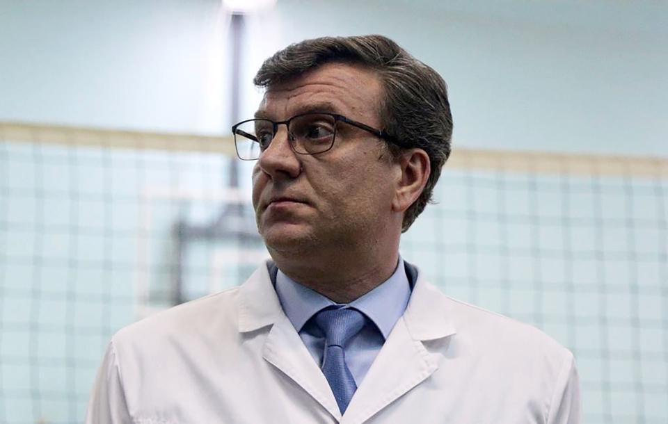 Alexander Murakhovsky, médico que tratou alexei navalny na rússia
