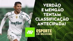 Palmeiras e Fla podem SE CLASSIFICAR hoje na Liberta | Timão joga MATA-MATA | ESPORTE EM DISCUSSÃO