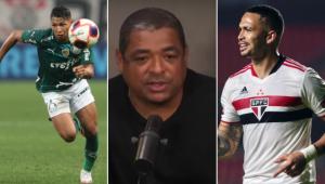 Vampeta arriscou palpite para a final do Paulistão entre Palmeiras e São Paulo