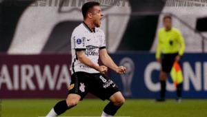 Ramiro comemora gol pelo Corinthians