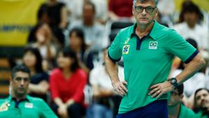 Renan Dal Zotto é o treinador da seleção masculina de vôlei