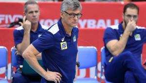 Renan Dal Zotto, treinador da seleção brasileira masculina de vôlei