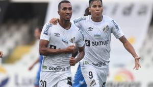 O Santos venceu o São Bento e evitou a queda para a Série A2 no Paulistão