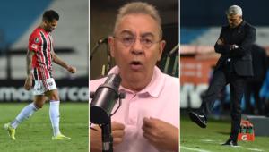 Flavio Prado criticou Crespo por forçar jogadores do time titular do São Paulo