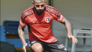 treino do São Paulo