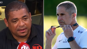 Vampeta comentou o acerto entre Corinthians e Sylvinho