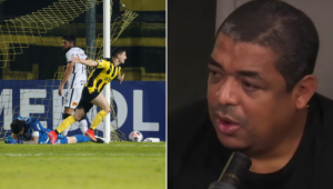 Vampeta criticou a atuação do Corinthians contra o Peñarol