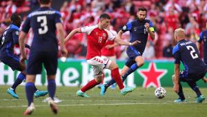 Dinamarca x Finlândia pela Eurocopa