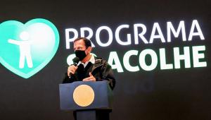 João Doria anuncia programa SP Acolhe