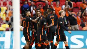 A Holanda venceu a Macedônia do Norte