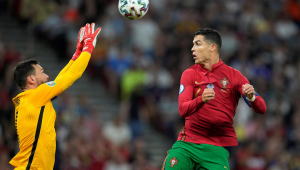 Portugal e França empataram em 2 a 2