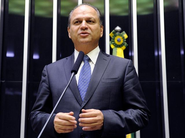 O deputado federal Ricardo Barros na Câmara