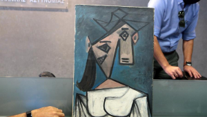 Pintura de Picasso roubada e recuperada