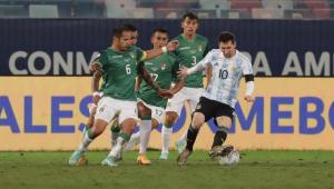 Messi deu show na vitória da Argentina sobre a Bolívia pela Copa América