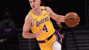 Alex Caruso, Los Angeles Lakers