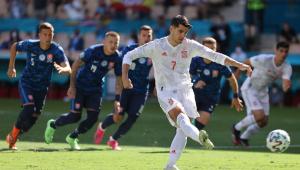 Morata bate pênalti na eurocopa