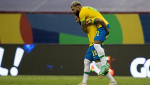 A Seleção Brasileira venceu a Venezuela por 3 a 0