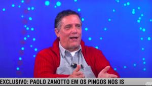 Paolo Zanotto em entrevista ao programa 'Os Pingos Nos Is'
