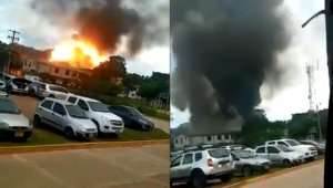 Explosão de carro-bomba na Colômbia