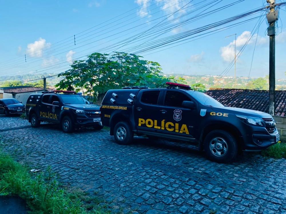 carros da polícia civil; operação suborno