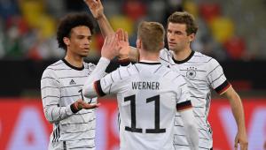 A Alemanha venceu a Letônia por 7 a 1