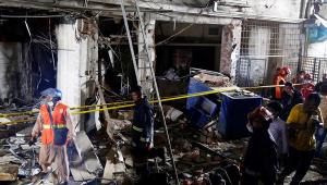 Explosão em prédio em Bangladesh
