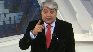 Datena apresentando o Brasil Urgente