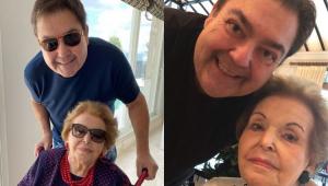 Morre mãe do apresentador Faustão aos 95 anos