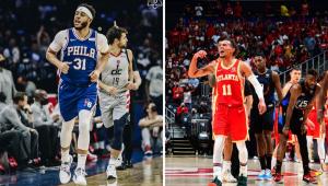 Philadelphia 76ers e atlanta hawks na nba