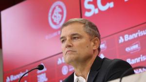 Diego Aguirre voltou ao Internacional após cerca de seis anos