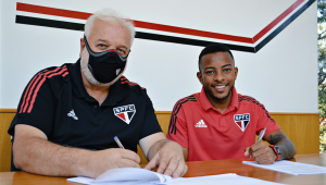 Welington renova contrato com o São Paulo