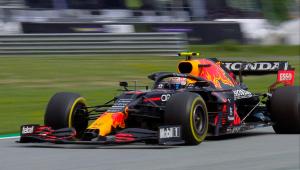 Piloto Max Verstappen, da Red Bull Rancing, no GP da Estíria