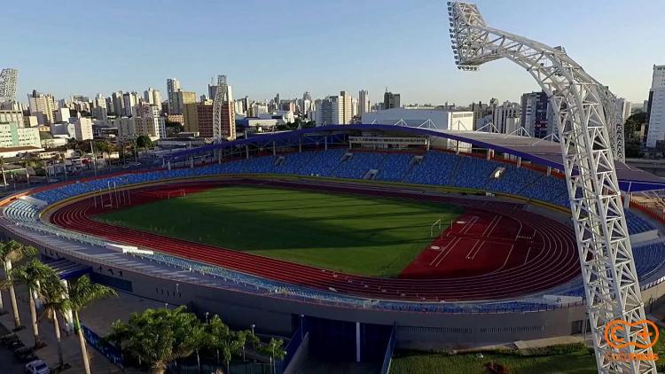 Estádio Olímpico, em Goiás