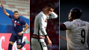 Mbappé, da França, Cristiano Ronaldo, de Portugal, e Lukaku, da Bélgica são atrações da Eurocopa 2021