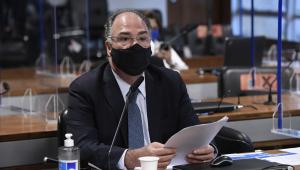 Em pronunciamento, à bancada, senador Fernando Bezerra Coelho (MDB-PE)