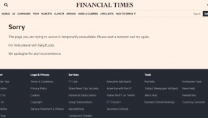 Homepage Financial Times