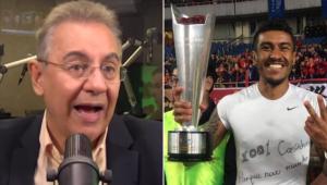 Flavio Prado menosprezou o interesse do Corinthians em Paulinho