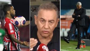 Flavio Prado revelou que existe um acordo informal entre São Paulo e Daniel Alves