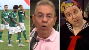 Flavio Prado comparou o Palmeiras ao personagem Kiko, do programa 'Chaves'