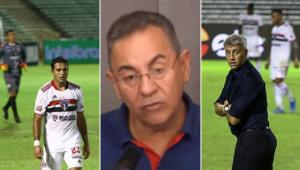 Flavio Prado criticou o São Paulo após derrota para o 4 de Julho