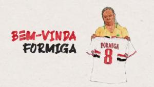 Formiga é a nova contratação do SPFC