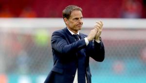 Frank De Boer não é mais o treinador da seleção holandesa