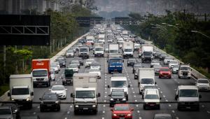 Trânsito na Marginal Tietê, em São Paulo