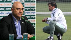 Galiotte reclamou da entrevista concedida por Abel Ferreira após derrota do Palmeiras