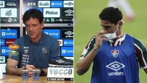 Fernando Diniz, técnico do Santos, sonha em contar com Paulo Henrique Ganso