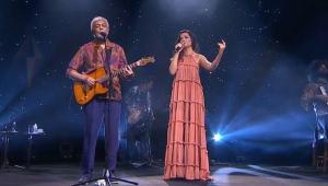 Gilberto Gil e Juliette fizeram live junina e pediram aceleração na vacincação