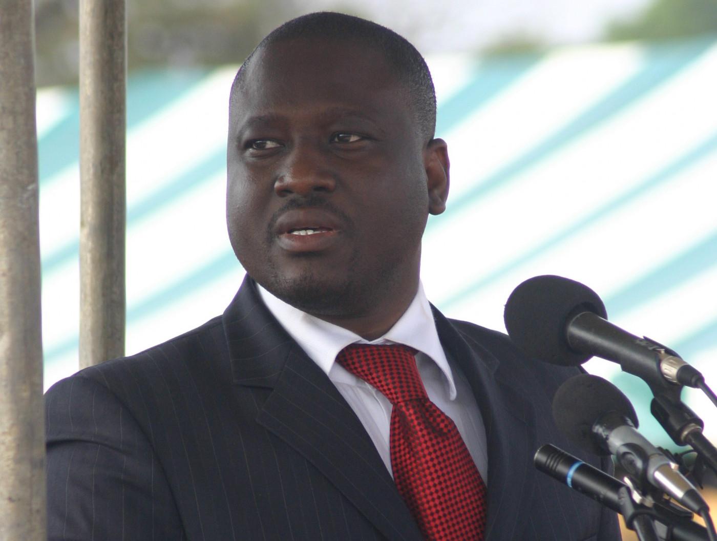 Guillaume Soro ex-primeiro-ministro da costa do marfim